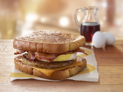 McDonald's Boldly Brings Bacon and Sausage Together on a French Toast McGriddle