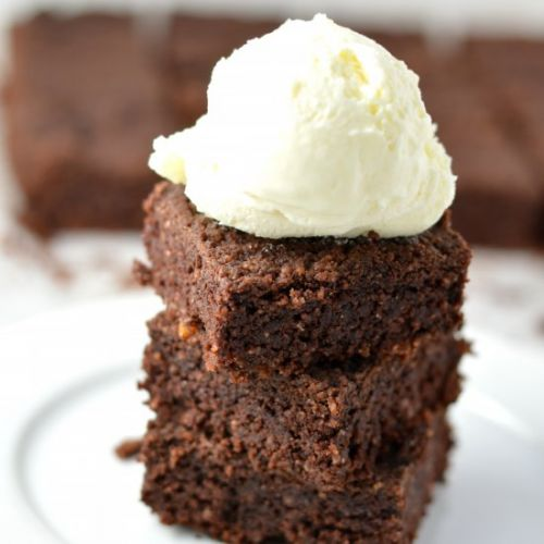 Almond Butter Coconut Brownie