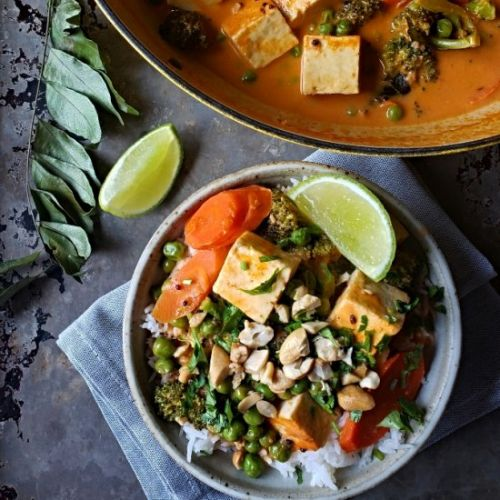 Indo Thai Curry With Broccoli