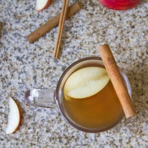 Homemade Hot Apple Cider