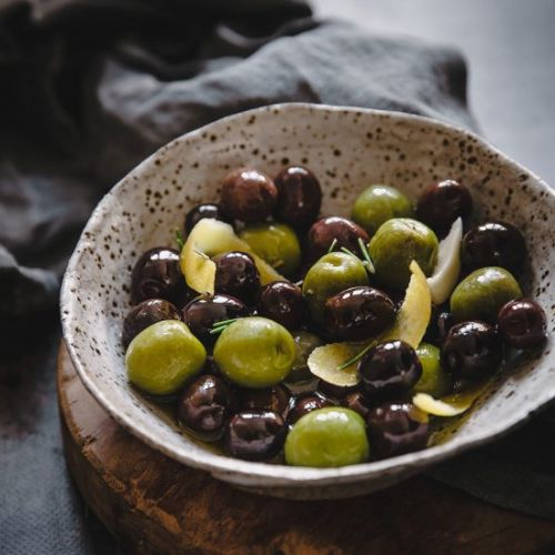 Mediterranean Marinated Olives