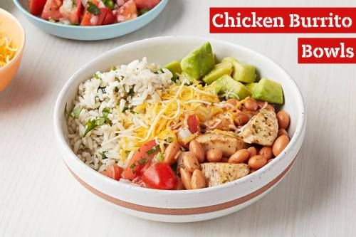 Try a Chicken Burrito Bowl for an easy dinner dish