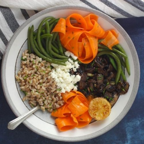 Simple Healthy Meal-in-a-Bowl