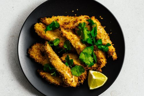 Crispy Air Fryer Chicken Strips