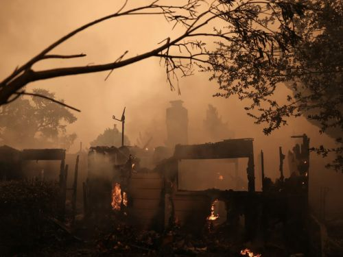 Scores of Napa Wineries, Restaurants, and Resorts Have Been Damaged by the Glass Incident Fire