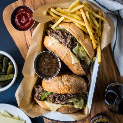Philly French Dip Sandwiches