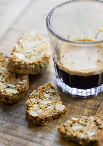 Multigrain and Seed Biscotti