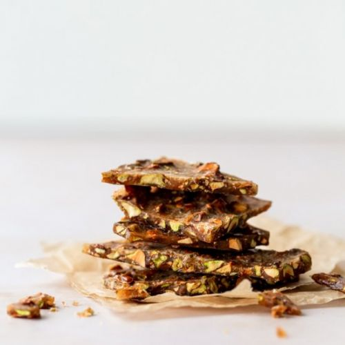 Pistachio-Rosemary Brittle