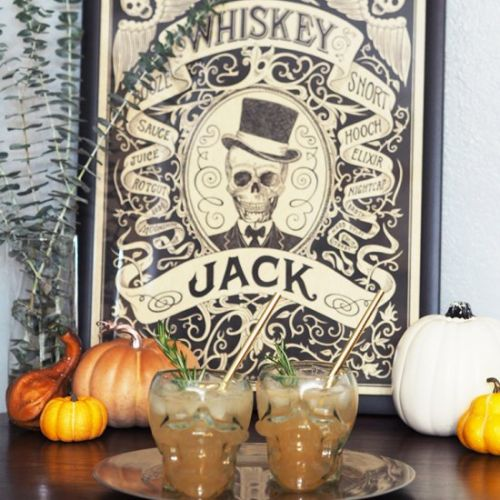 Whiskey Jack - A Halloween Cocktail
