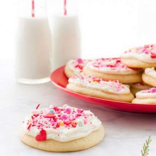 Cream Cheese frosted Cookies
