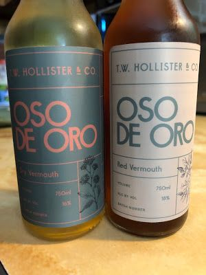 T.W. Hollister Oso de Oro Vermouth: Worthy of Attention & Respect