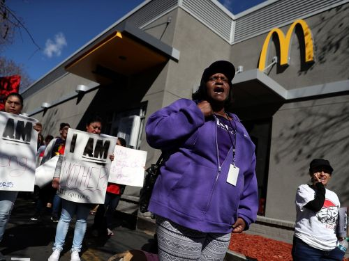 McDonald's Workers Are Striking Today Over Sexual Harassment