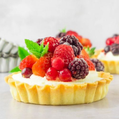 Pimms Summer Fruit Tart