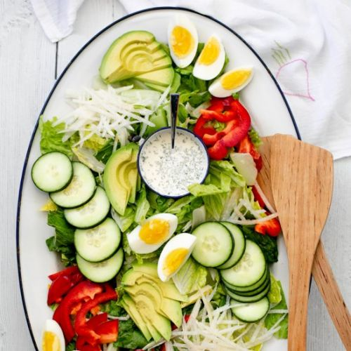 Farmers Market Salad | Lemon Ranch