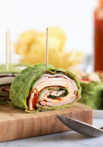 Easy Turkey Roll Ups