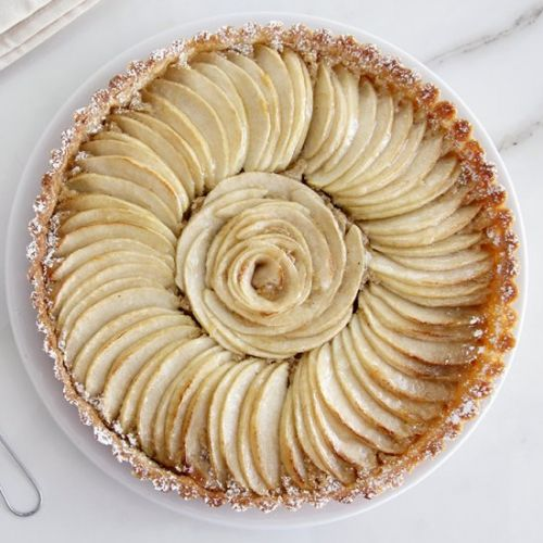 Almond Apple Tart