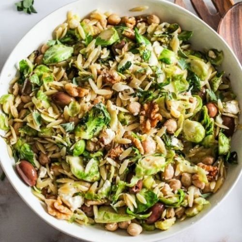 Brussels Sprouts Orzo