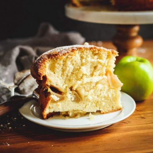 Russian Apple Sharlotka Cake
