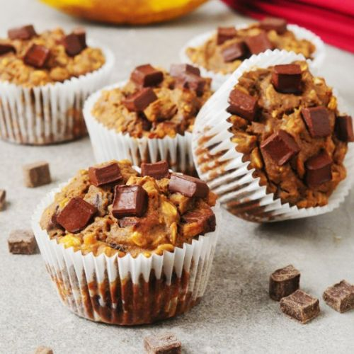 High Protein Chocolate Chunk Muffin