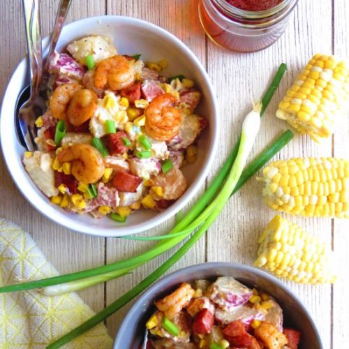 Shrimp Boil Potato Salad