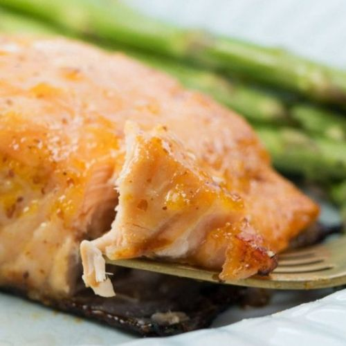 SIMPLE APRICOT LEMON SALMON