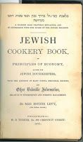 Jewish cookery books