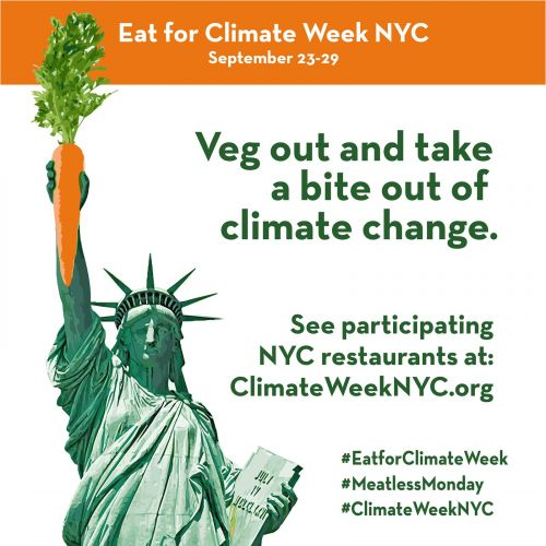 Eat for Climate Week: Take a Bite Out of Climate Change