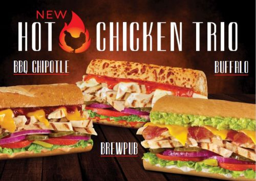 Togo's Launches All New Hot Chicken Sandwiches