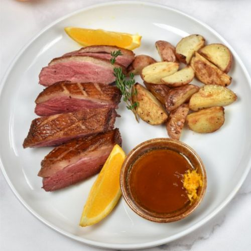 Duck Breast a L'Orange
