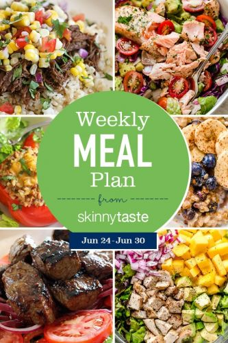Skinnytaste Meal Plan