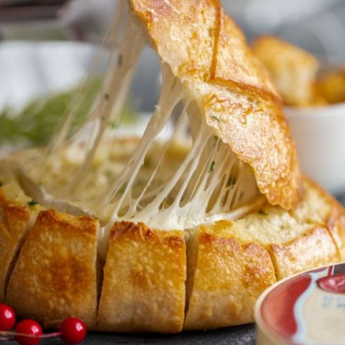 Baked Brie Pull Apart Bread