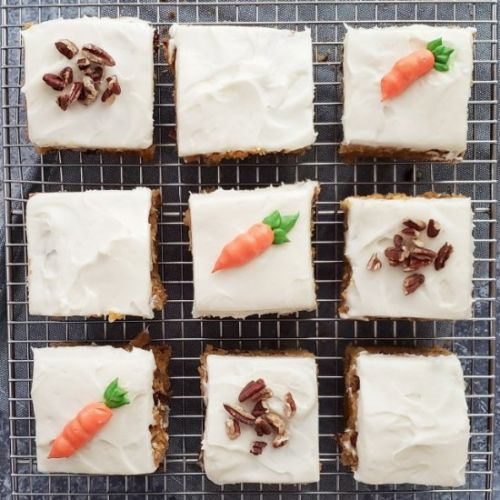 Carrot Cake Blondies