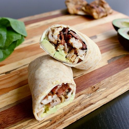 Low Carb Chicken Wrap