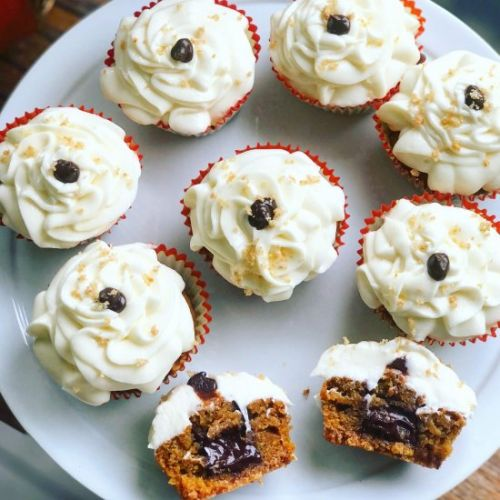 Sweet Potato S'mores Cupcakes