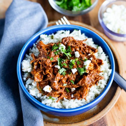 Instant Pot Chicken Mole