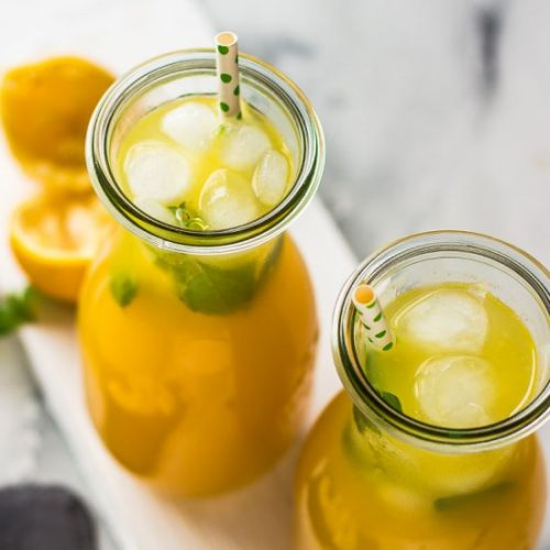 Ginger-Pineapple Lemonade