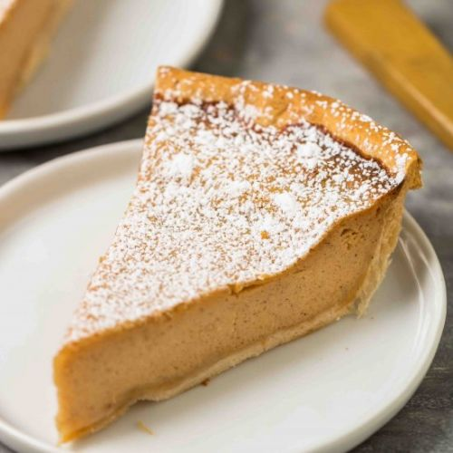 Southern inspired sweet potato pie