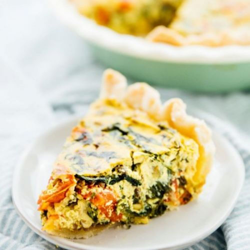 Easy Vegan Quiche