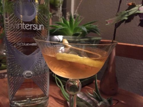 What I'm Drinking: Walking Through the Shrubbery with WintersunAquavit
