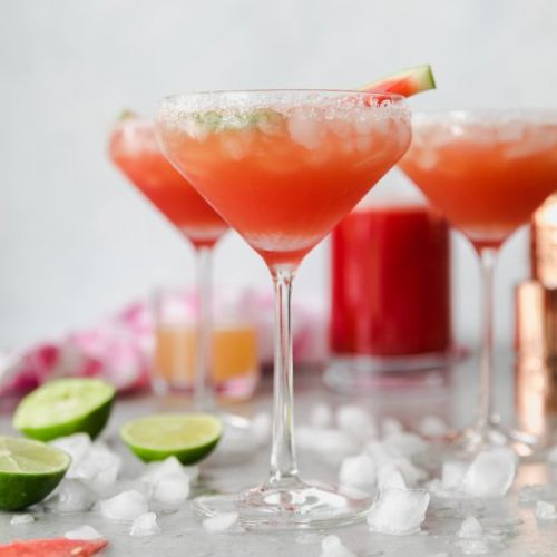 Watermelon Grapefruit Margaritas