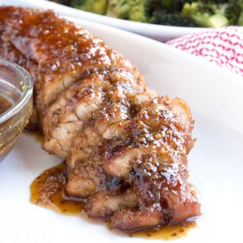 Maple Glazed Pork Tenderloin