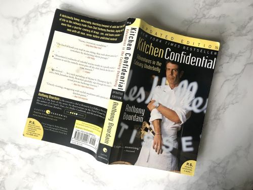 Anthony Bourdain's 'Kitchen Confidential' Is Amazon's Current Best-Seller