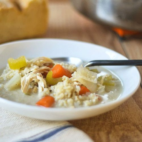 Chicken Vegetable Rice Soup
