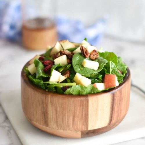Fall Apple Pecan Salad