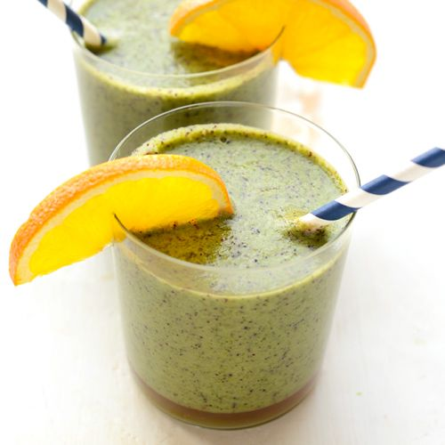 Blueberry Spinach Smoothie
