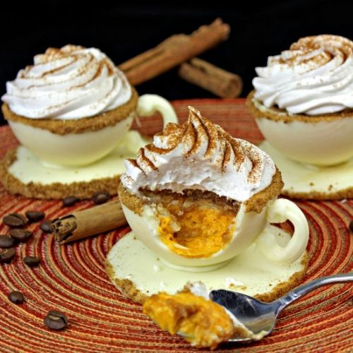Pumpkin Latte Mousse