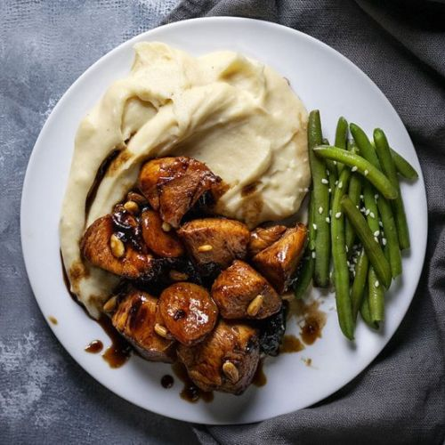 Honey-Balsamic skillet chicken