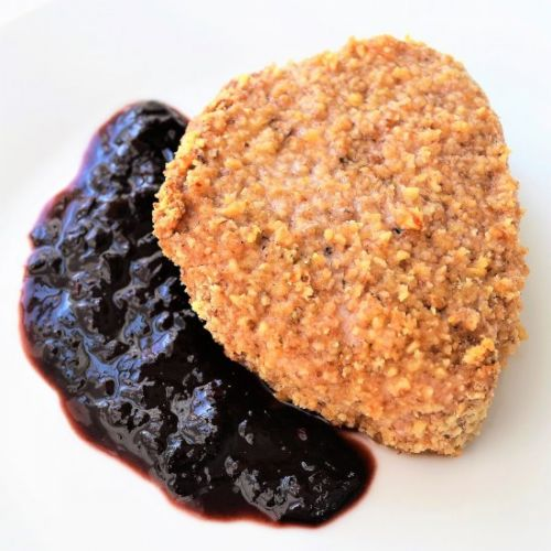 Walnut Crusted Pork Chops