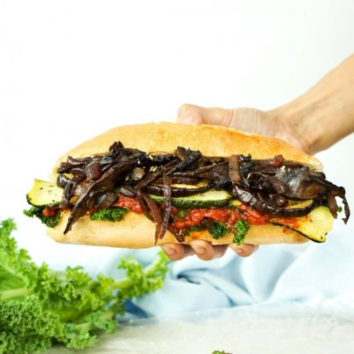 Rustic Italian Vegetable Sandwiches