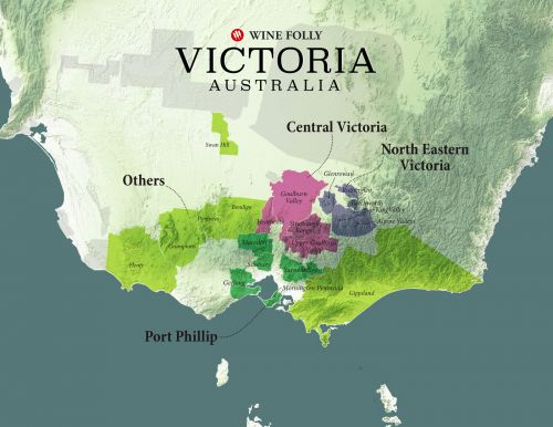Yarra Valley and The Wines of Victoria, Australia